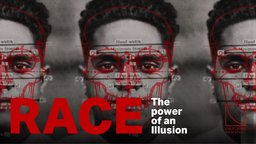 image of three faces of people with dimensions written on them and the words of the title